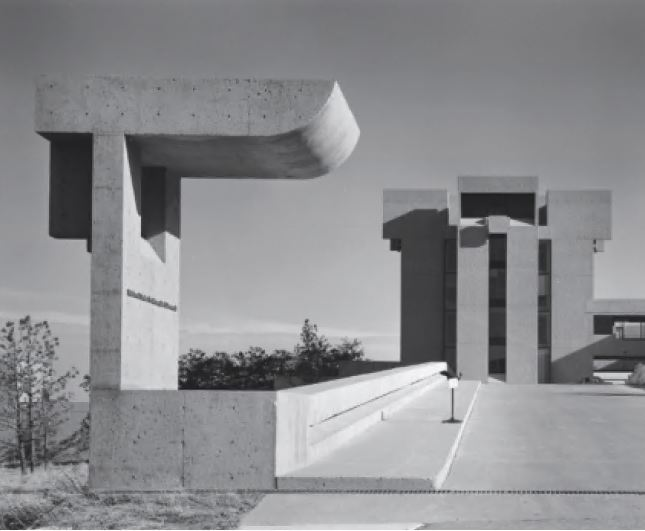 Mesa Laboratory, National Center for Atmospheric Research, Boulder, Colorado, USA, 1966, by IM Pei & Partners