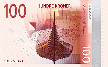 The Metric System's 100 Kroner note proposal
