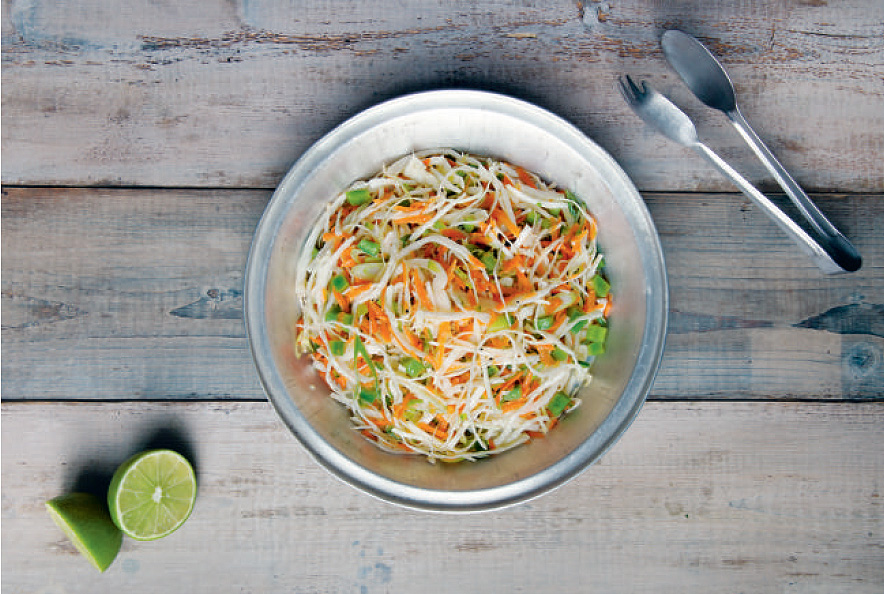 Mexican Slaw, from America The Cookbook