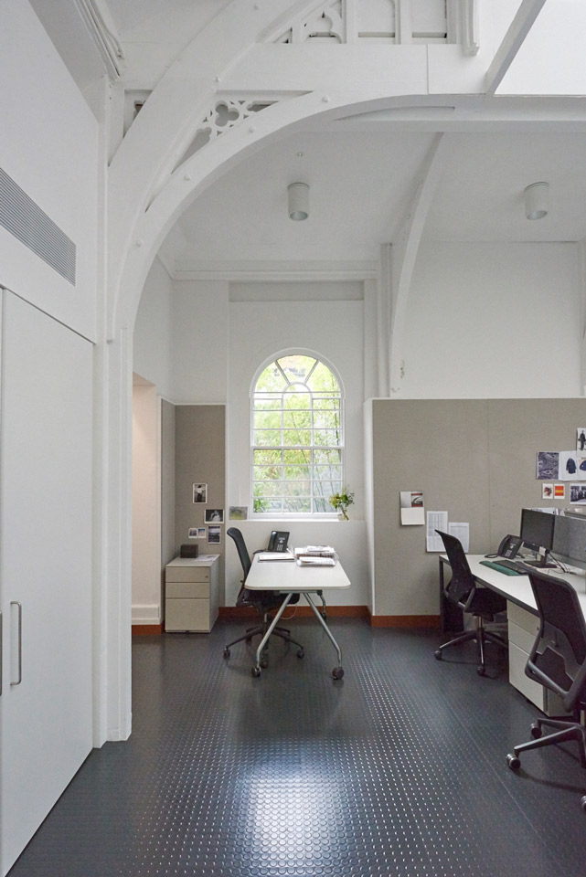 Pentagram's new design studio for Margaret Howell