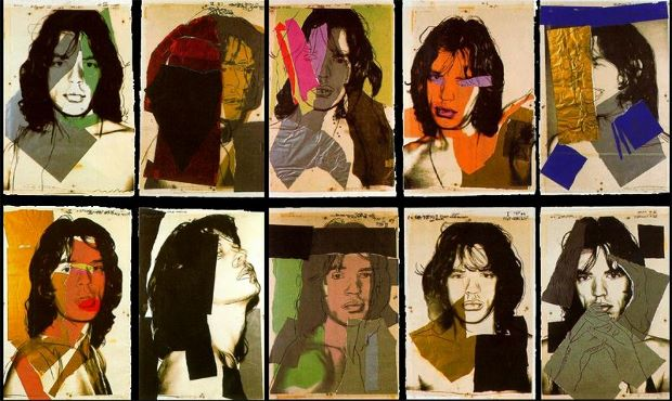 Mick Jagger (1975) by Andy Warhol
