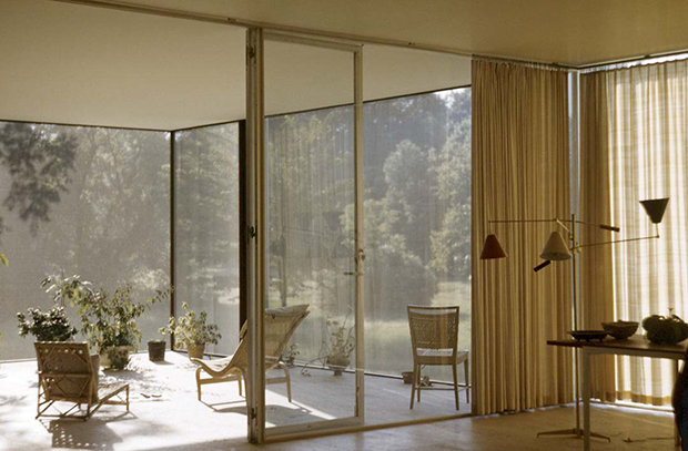 The Farnsworth House by Mies van der Rohe