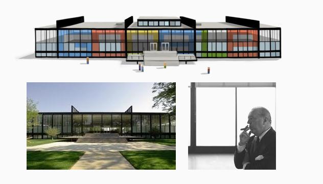 Mies Van Der Rohe Design Philosophy.Mies Van Der Rohe Star Of The Google Doodle Architecture