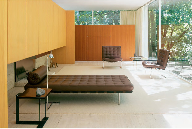 The Farnsworth House by Mies van der Rohe, as featured in Elemental Living