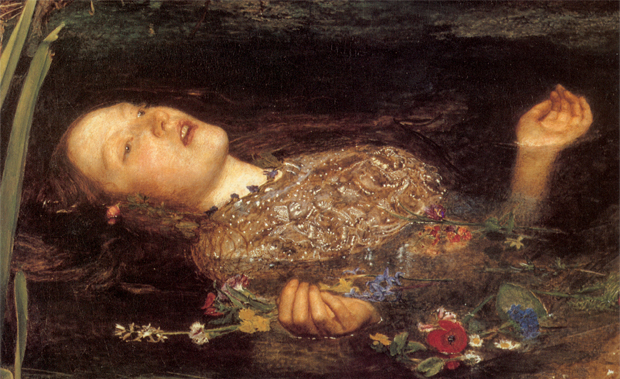 John Everett Millais' Ophelia (1851 – 52) features in Beauty