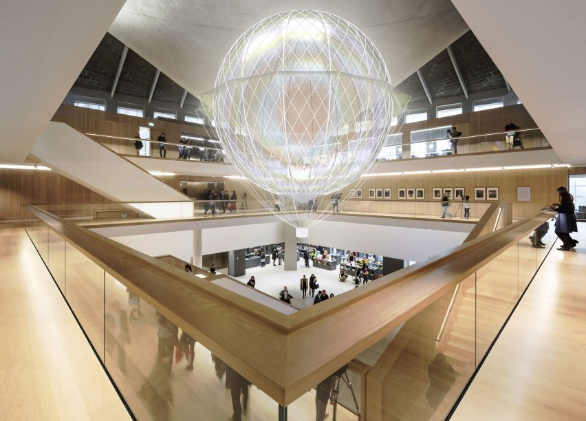 A rendering of Mind Pilot inside the Design Museum. Image courtesy of the Design Museum