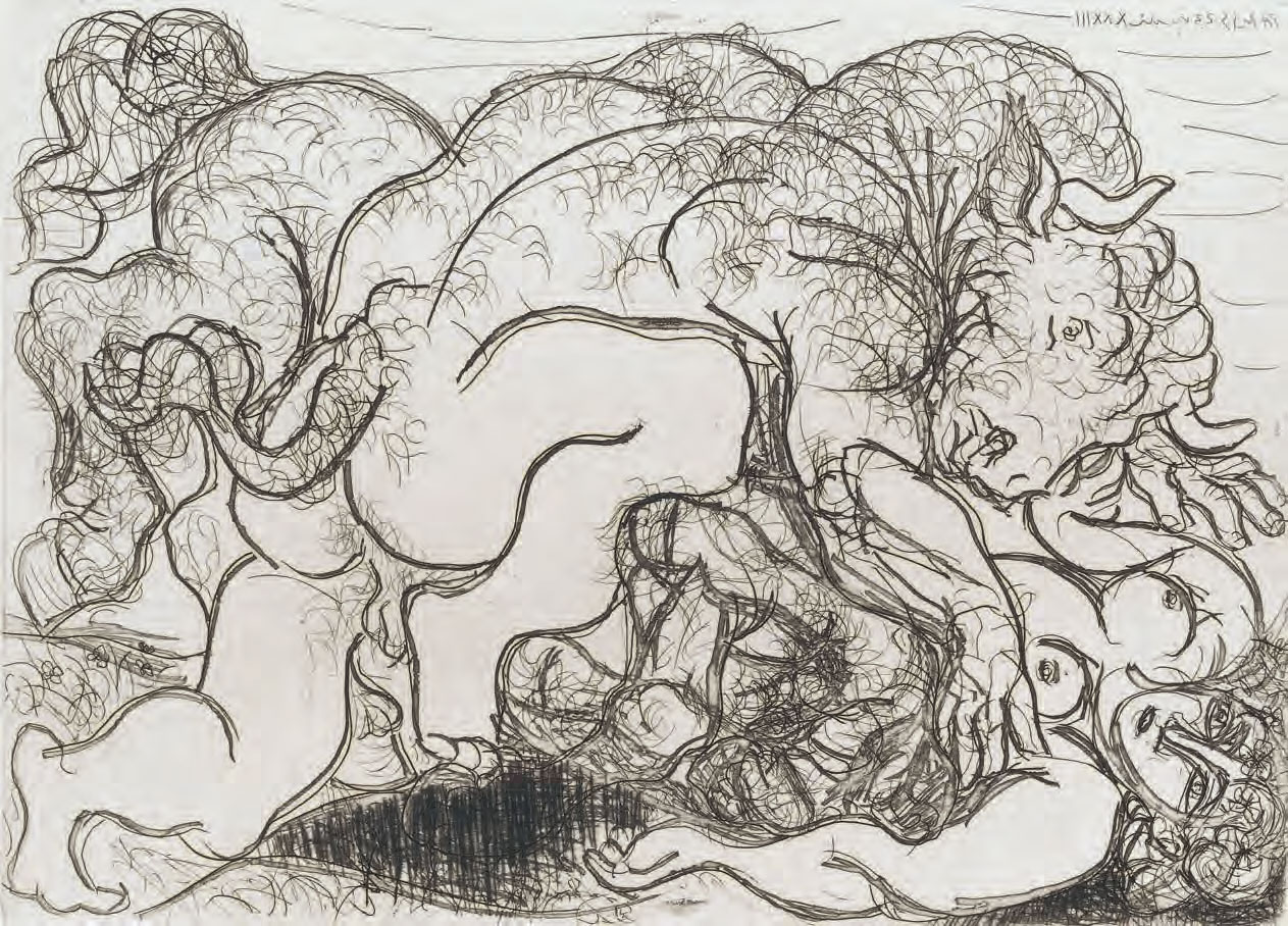 How Picasso, Pollock and Blake saw the Minotaur