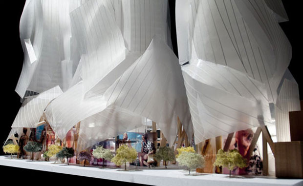 Frank Gehry goes back to the drawing board