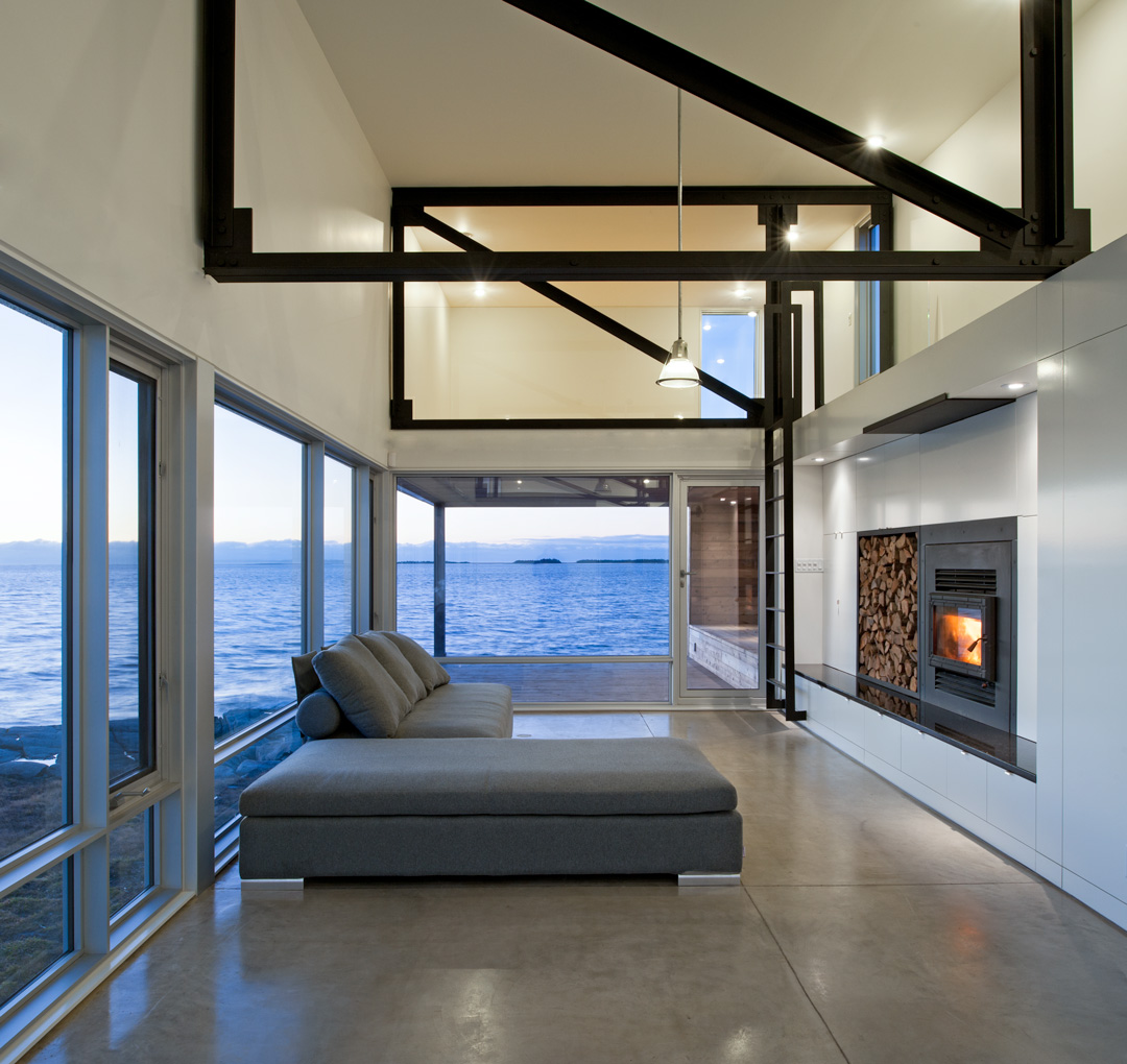 MacKay-Lyons Sweetapple Architects Sunset Rock House 2011