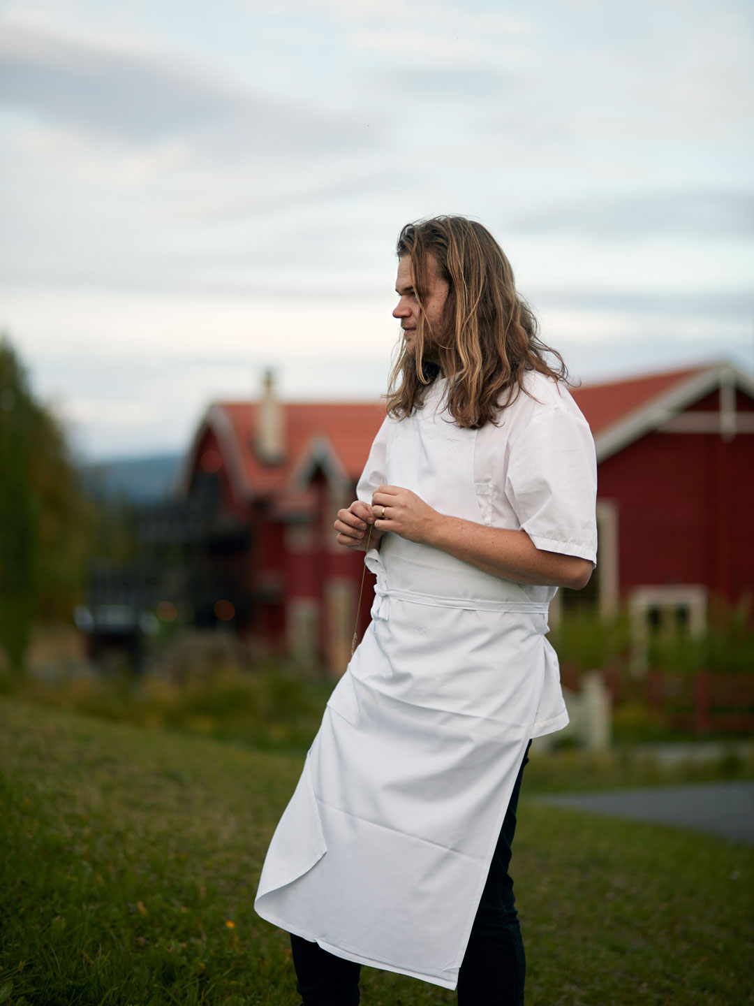 Chef and author Magnus Nilsson. Photo by Erik Olsson