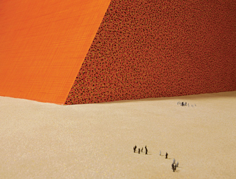 The Mastaba by Christo and Jeanne-Claude