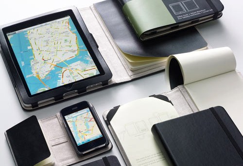 Moleskine covers: the smartest way to protect your iPad