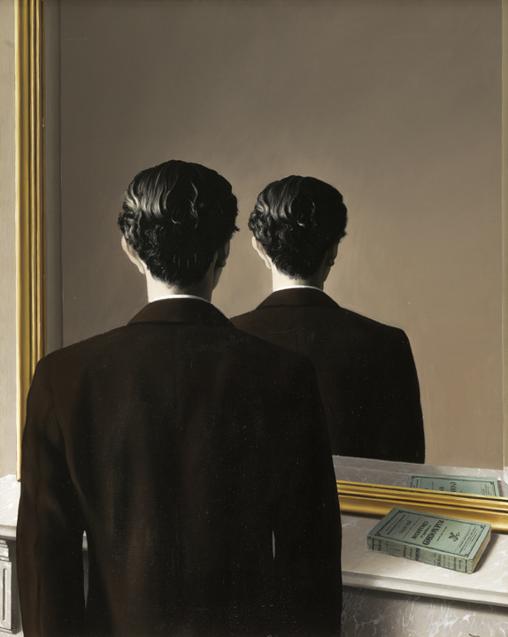 Not to be Reproduced (1937) by René Magritte