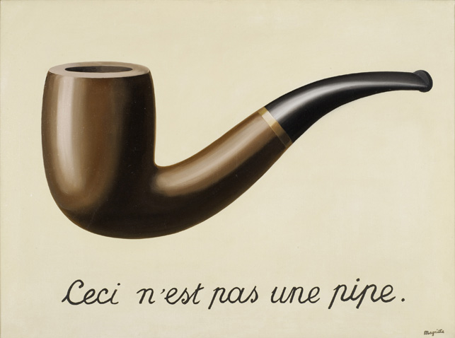 La Trahison des images (The Treachery of Images) (1928-29) by René Magritte