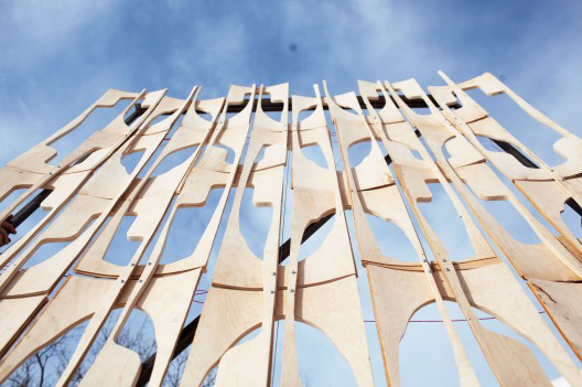 Party Wall by CODA for MoMA PS1