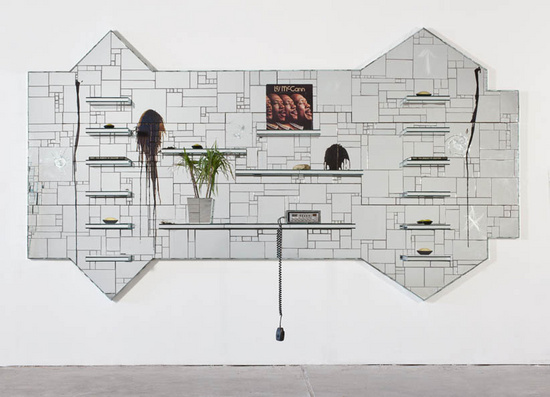 The Moment of Creation (2011) by Rashid Johnson
