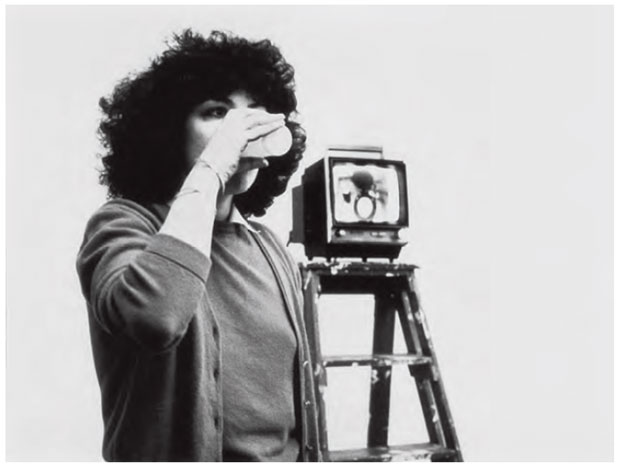Mona Hatoum - Look No Body! 1981 performance 40 min