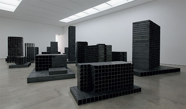 Can you see Beirut in Mona Hatoum's metal blocks?