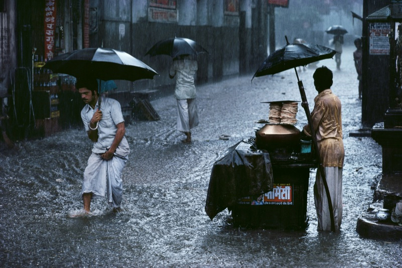 How the 1962 monsoons inspired Steve McCurry