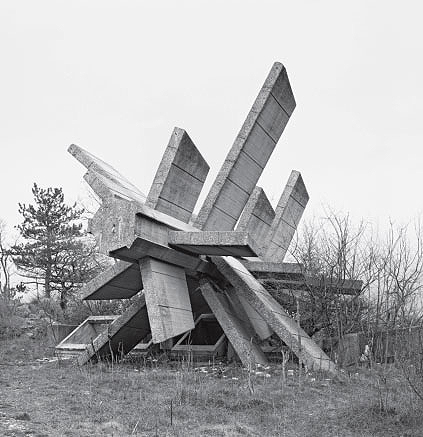 Monument to Croatian Victory, Knin, Croatia, 1969, by Vojin Bakic
