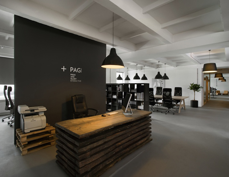 Morpho's reworking of Pride&Glory's offices