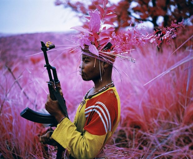 Safe from Harm, 2012 by Richard Mosse, from The Enclave