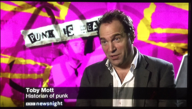 Toby Mott - Joe Corré's punk bonfire was wrong