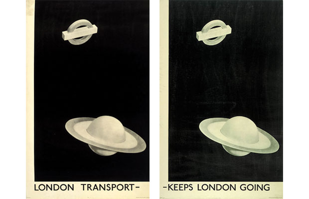 Man Ray, Keeps London Going (1938)