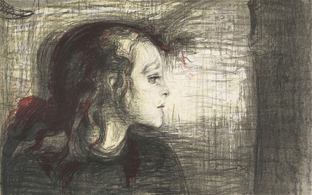Edvard Munch's The Sick Child