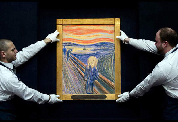 The Scream goes to auction at Sotheby's