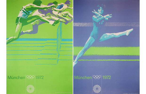 Munich 1972 posters by Otl Aicher