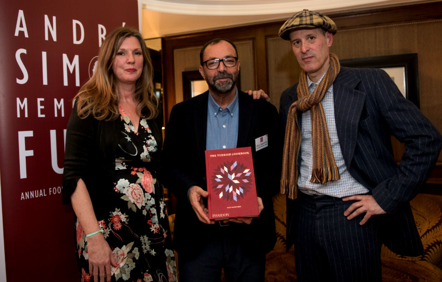 The Turkish Cookbook wins at the André Simon Awards