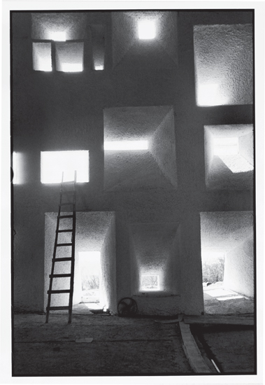 René Burri, Shell of the Notre Dame du Haut Chapel (1955) Ronchamp