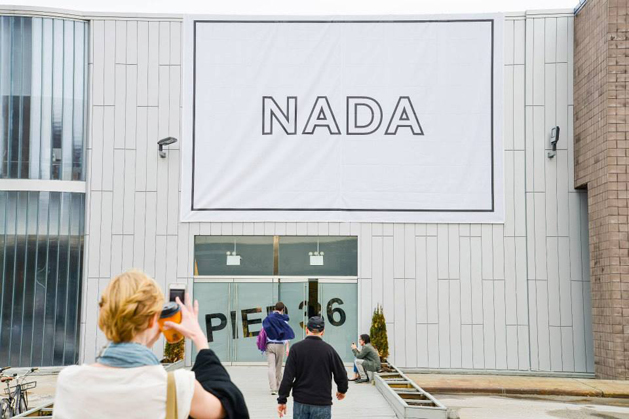 The entrance to NADA New York 2013