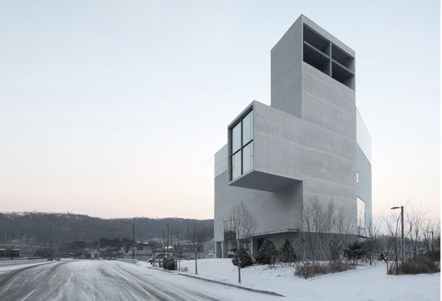 First building in new district is a concrete church | Architecture ...RW Concrete Church, Byeollae, South Korea - Nameless Architecture