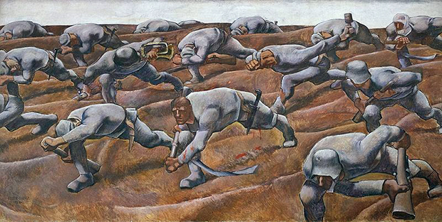 The Nameless Ones (1914-16) by Albin Egger-Lienz