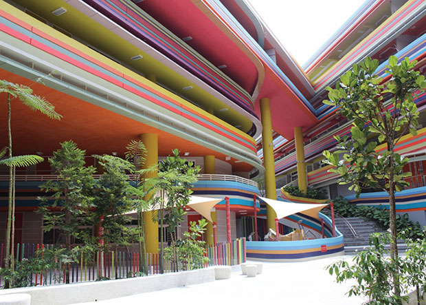 Nanyang Primary School Extension, Singapore - Studio 505