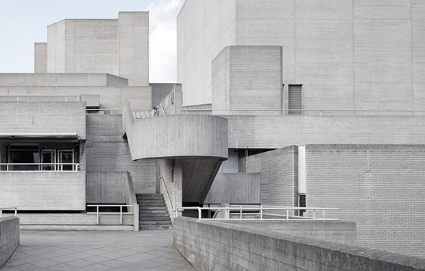 Denys Lasdun's National Theatre, London