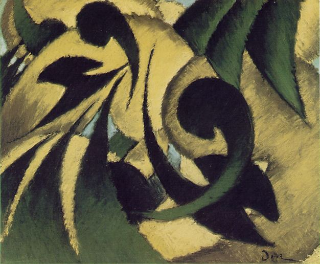 Nature Symbolized (1911) by Arthur Dove