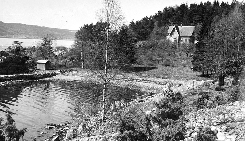 Munch's retreat as it was in 1910
