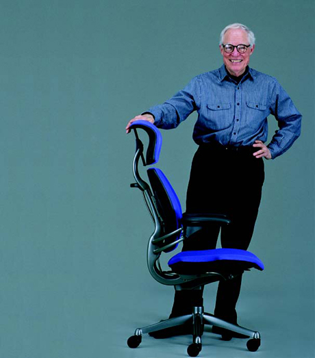 Neils with his Freedom Chair