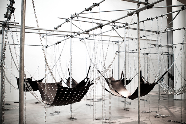 Never Again (2005) by Monica Bonvicini