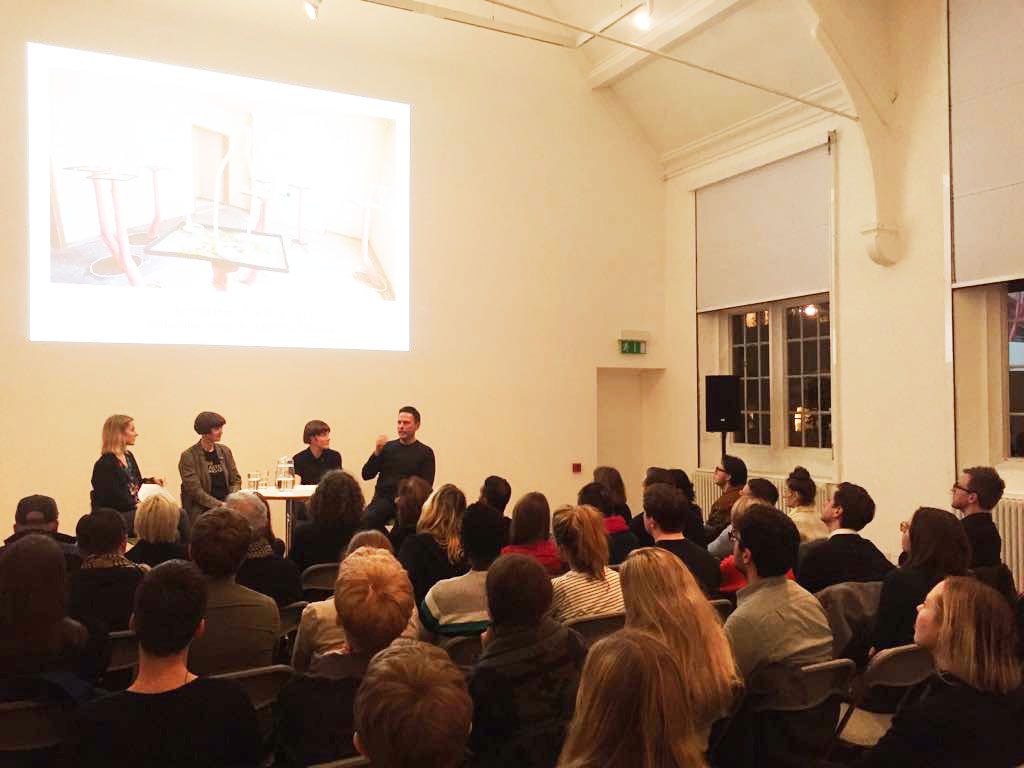 The panel discussion at Camden Arts Centre