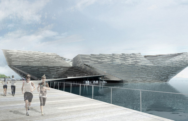 Judges of the competition to design Dundee's V&A Museum unanimously decided on Kengo Kuma's creation