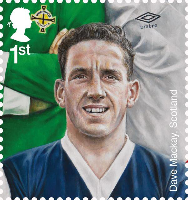 Dave Mackay - Andy Kinsman for Royal Mail