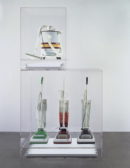 New Hoover Convertibles, Green, Red, Brown, New Shelton Wet/Dry 10 Gallon, (1979) by Jeff Koons