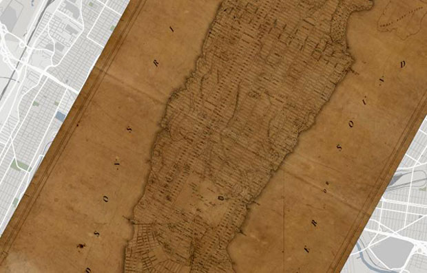 John Randel, New York Grid Map (1811)
