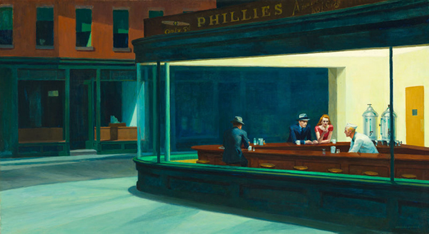 The search for Edward Hopper's Nighthawks diner