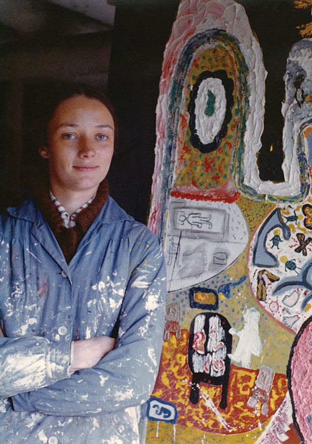 Niki de Saint Phalle in Deià, 1955 Color photograph Niki Charitable Art Foundation, Santee, CA, USA © 2014, Niki Charitable Art Foundation, VEGAP, Bilbao