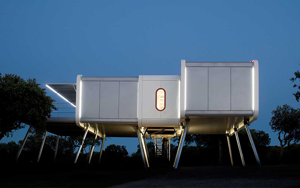 The Spaceship Home by NOEM
